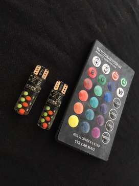 Se venden bombillos led rgb con control de colores