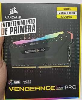 Memoria Ram Corsair  Vengeance Rgb Pro 16gb 2x8gb Corsair