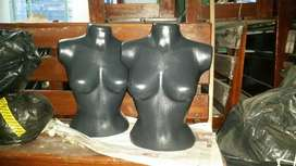 Vendo maniquíes de troncos mujer