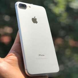 iPhone 7 Plus ..Silver.. Como NUEVO, Incluye Caja Original. IMEI LIBRE. Plan Retoma 7