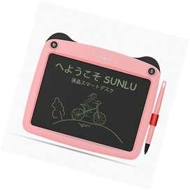 • Tableta de escritura LCD, Tablero de dibujo y escritura electrónico de 9 pulgadas, Bloc de notas