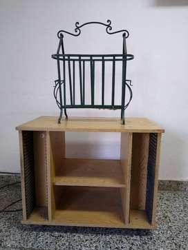 revistero y mueble