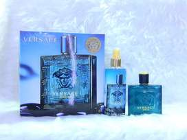 Estuche Versace Eros para hombre original perfume +splash