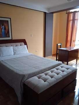 Hotel funcionando en Baños del Inca