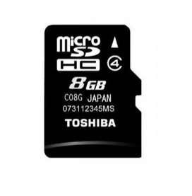 Toshiba Usada 8GB Memoria Mircro SD