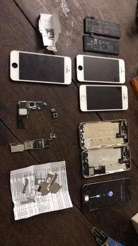 Repuestos iphone 5s modulos no funcionan