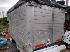Vendo caja de aluminio, ideal camper motorhome deposito etc
