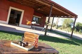 pd03 - Cabaña para 2 a 8 personas con pileta y cochera en San Juan