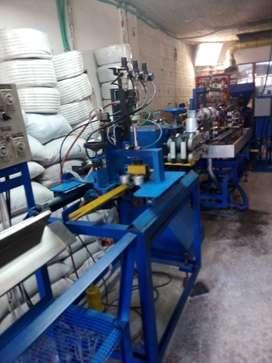 EXTRUSORA PARA FABRICAR PERFILES  RTELEFONICOS EN PVC
