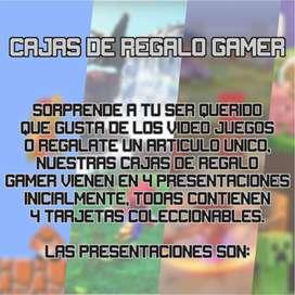 Cajas de Regalo Gamers
