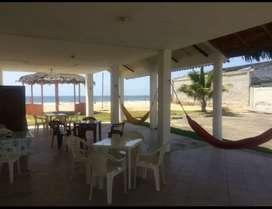 Santa Elena Manglaralto sector Río Chico venta de Hosteria Frente al Mar.