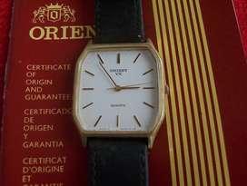 Reloj retro Orient VX estrachato decada 70 con Estuche