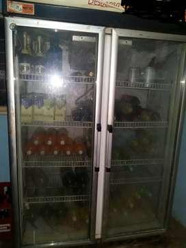 vendo urgente heladera doble puerta para negocio
