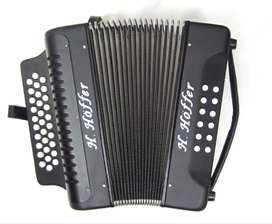 Acordeon Hoffer B3112 Music Box Colombia Profesional Iii