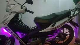 Vendo moto en exelente estado unica dueña
