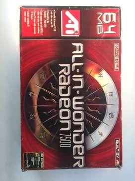 llevate esta hermosa tarjeta d video All-In-Wonder Radeon 7500