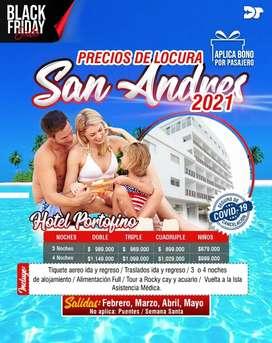 San Andrés febrero, marzo