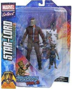 Figuras De Acción Guardianes De La Galaxia Star Lord Y  Rocket MARVEL 0