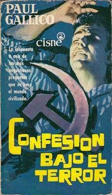 Libro: Confesión bajo el terror, de Paul Gallico [novela de espionaje]