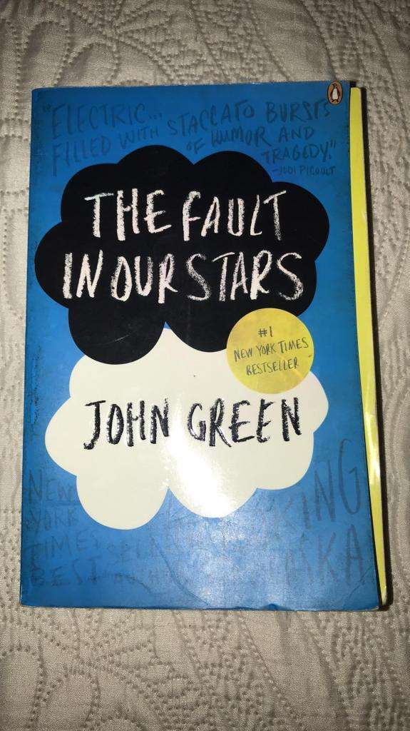 """Libro en Ingles """"The Fault In Our Stars"""" 0"""
