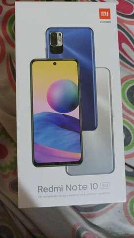 Vendo o cambio y encimo dinero por celular de más gama Xiaomi REDMI note 10 5g