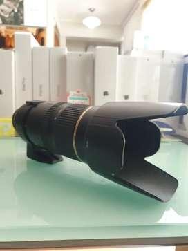 Lente tamron 70-200 2.8 para Nikon