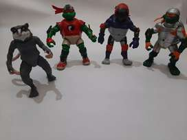 Coleccion figuras tortugas ninjas originales