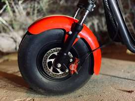 Moto eléctrica tipo harley marca greenline