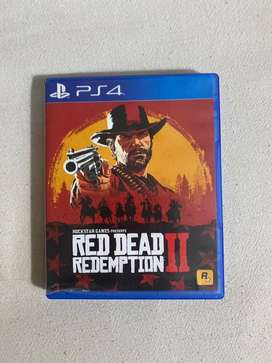 Red dead Redemption 2 ps4 fisico