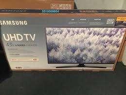 """Televisor samsung 43"""" 4k nuevo"""