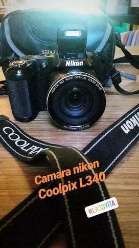 Camara nikon coolpix L340