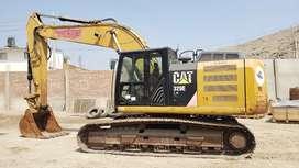 Excavadora CAT 329EL Importacion