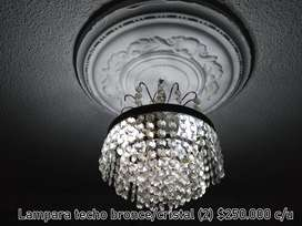 Lámparas de techo para sala y comedor y apliques de pared