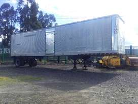 Contenedor seco de 40 pies y aislado de aluminio contenedores