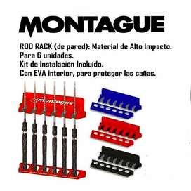 Rod Rack Montague - Posacaña de Pared