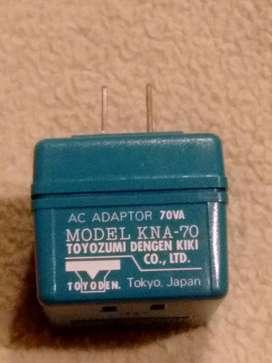 Convertidor de 110v a 100v