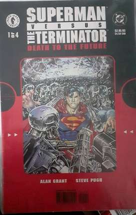 SUPERMAN VERSUS TERMINATOR (DEATH TO THE FUTURE)