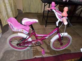 Vendo bicicleta para nena rodado 14