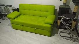 Sofá Cama verde