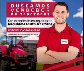 Vendedor/a de maquinaria agrícola