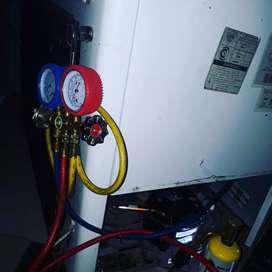 Cargas de gas heladeras y freezers