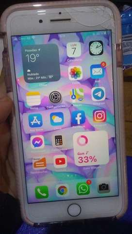 Iphone 7 plus 256gb Red edicion