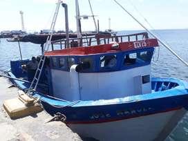 Vendo bote de pescar