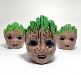 Maceta baby Groot cerámica