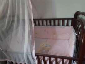 Cama cuna bebé