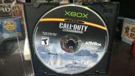 Call Of Duty Finest Hour ORIGINAL para Xbox