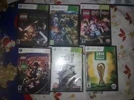Vendo 25 juegos de Xbox 360