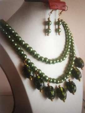 Collar Perlas y piedras  Fabrica
