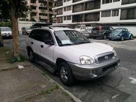 Hyundai santa fe 2004 impecable, automático, solo 112000 km