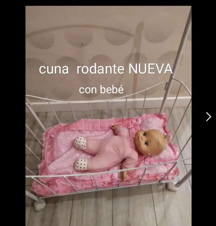 Cuna NUEVA +muñeco NUEVO 0